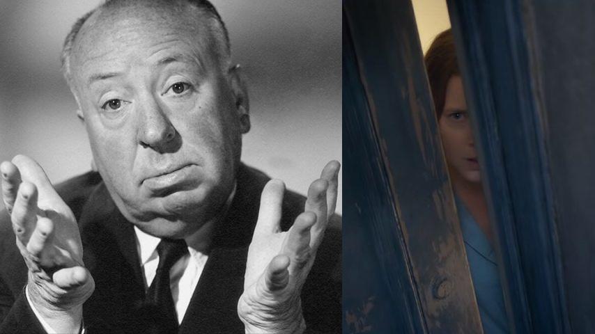 Referencias a Hitchcock en «La mujer en la ventana»