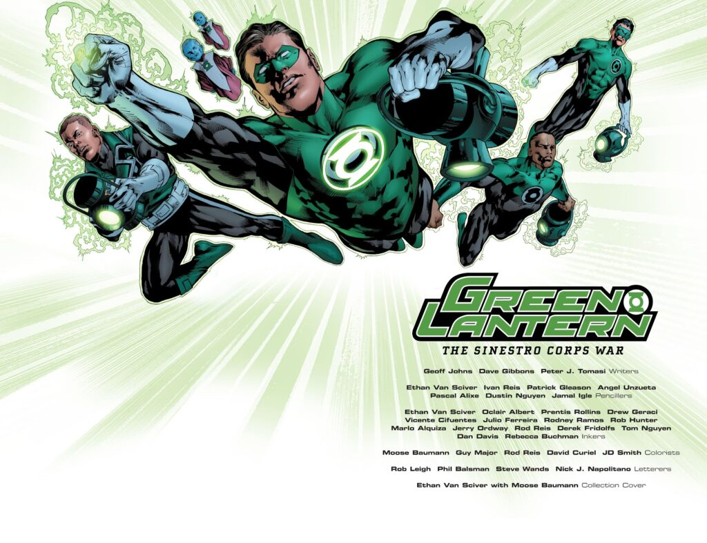 Reseña: Green Lantern, The Sinestro Corps War