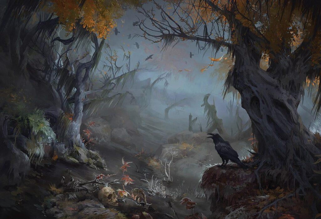 Innistrad pantano Magic the Gathering