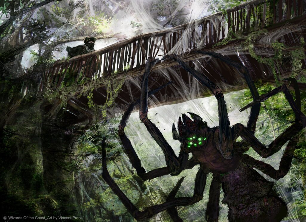Kessig Recluse Magic the Gathering araña