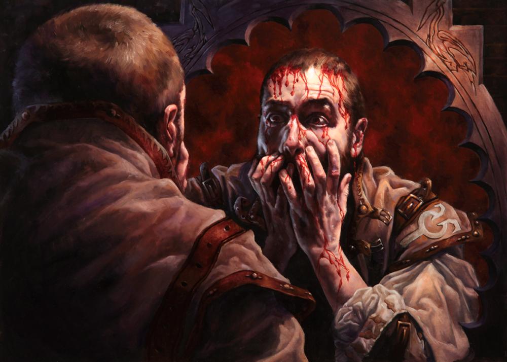 Maldición de Sangrado Magic the Gathering Innistrad